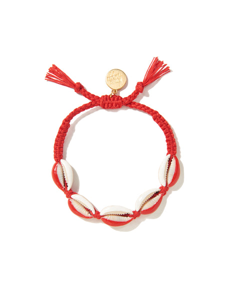 GALACSEA BRACELET (RED AND WHITE)