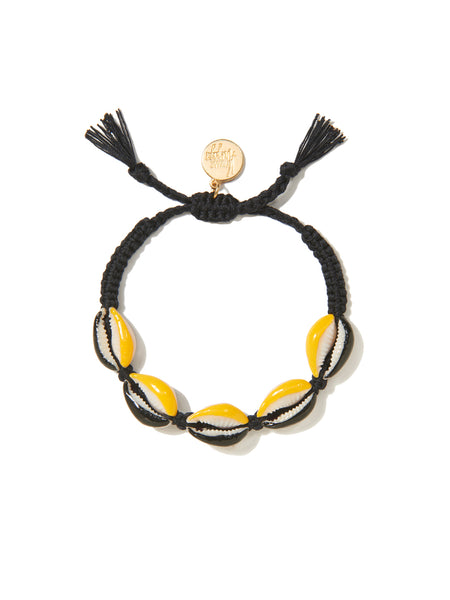 GALACSEA BRACELET (BLACK AND YELLOW)