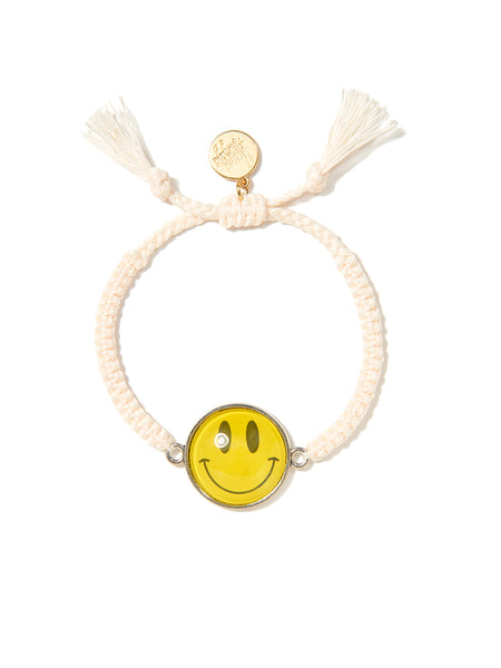 HAPPY SMILE BRACELET (WHITE)