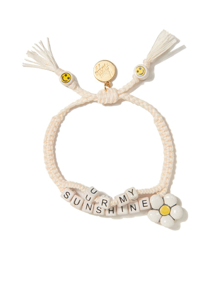 YOU'RE MY SUNSHINE BRACELET (WHITE)