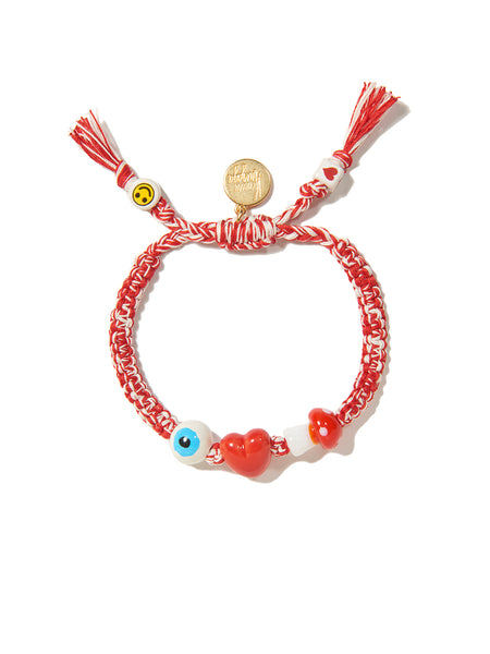I LOVE MUSHROOMS BRACELET