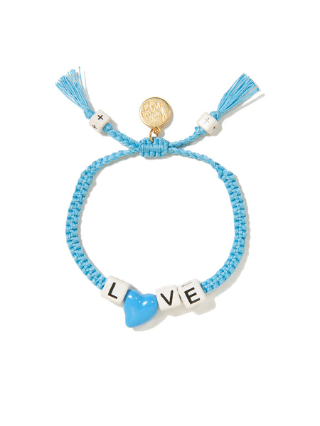 LOVE HEART BRACELET (BLUE)