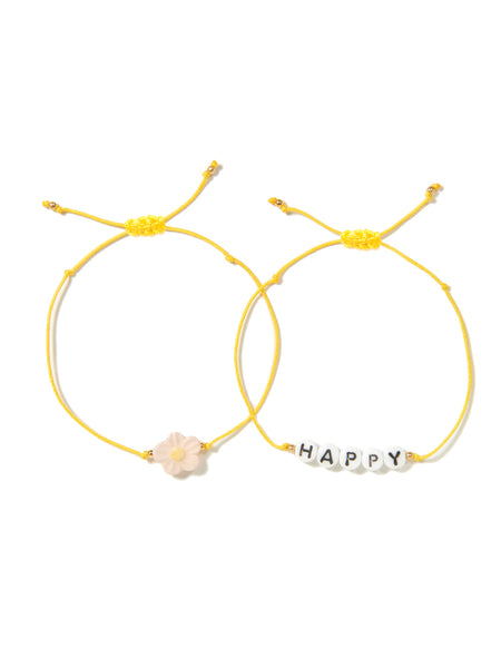 HAPPY DAISY BRACELET SET
