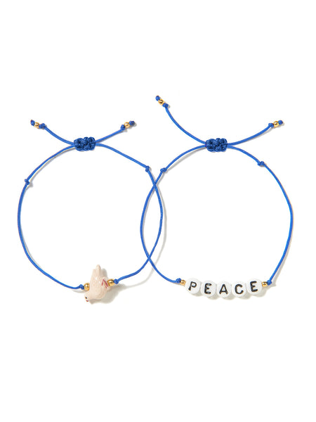 PEACE DOVE BRACELET SET