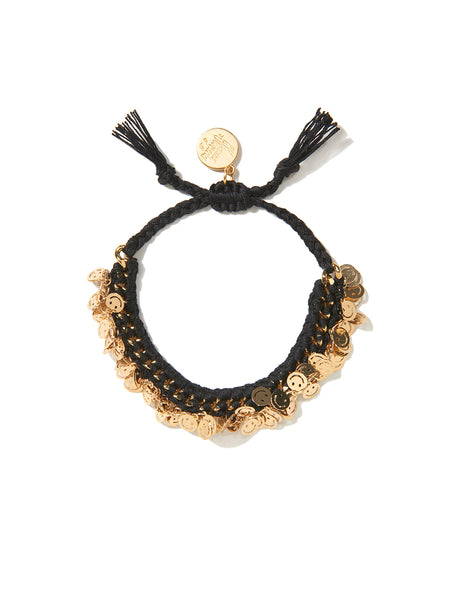 HAPPY STREET BRACELET (BLACK)
