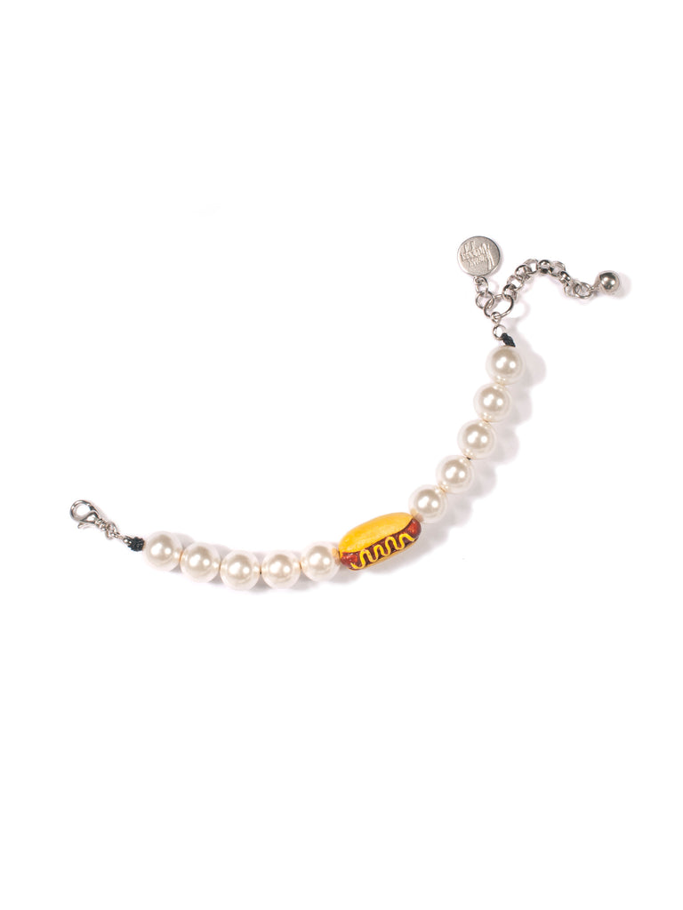 A SIDE OF PEARLS BRACELET - Venessa Arizaga