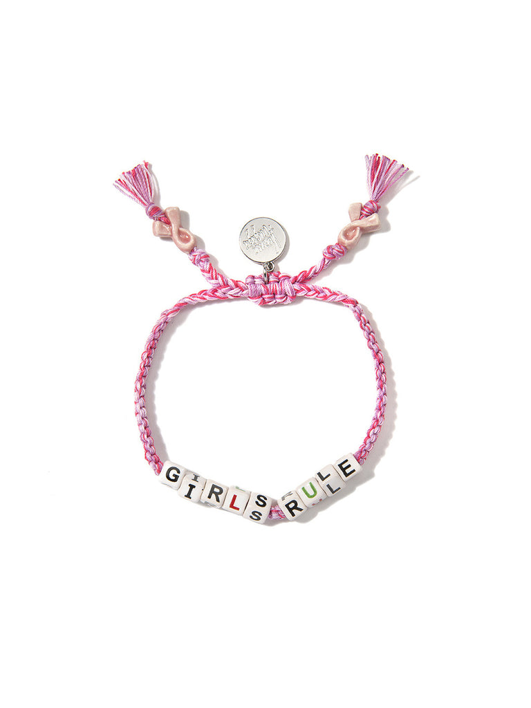 GIRLS RULE BRACELET (PINK) - Venessa Arizaga