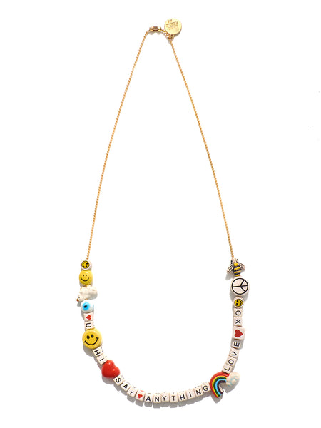 """SAY ANYTHING"" DIY NECKLACE KIT (RAINBOW FANTASY)"