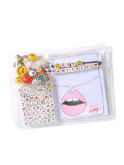 """SAY ANYTHING"" DIY BRACELET SET KIT (RAINBOW FANTASY)"