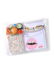 """SAY ANYTHING"" DIY BRACELET SET KIT (SNACK ATTACK)"