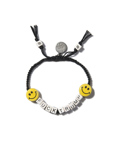 FUCK TRUMP BRACELET (BLACK)