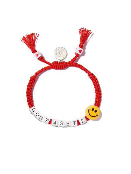 DON'T FORGET TO SMILE BRACELET