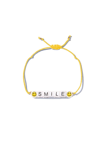 SMILE BRACELET (SUN YELLOW)