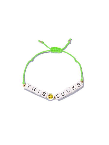 THIS SUCKS BRACELET
