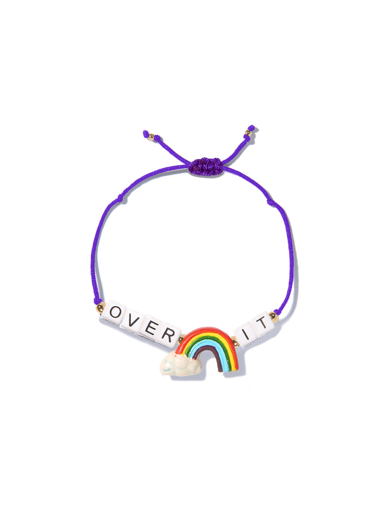 OVER IT BRACELET (PURPLE)