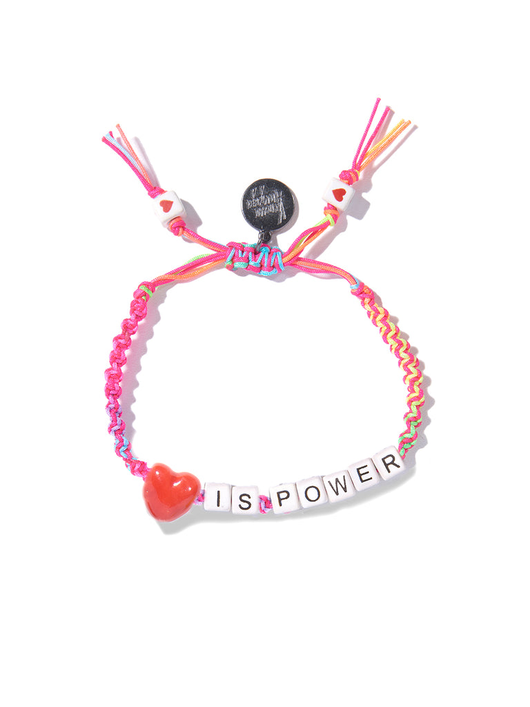 LOVE IS POWER BRACELET