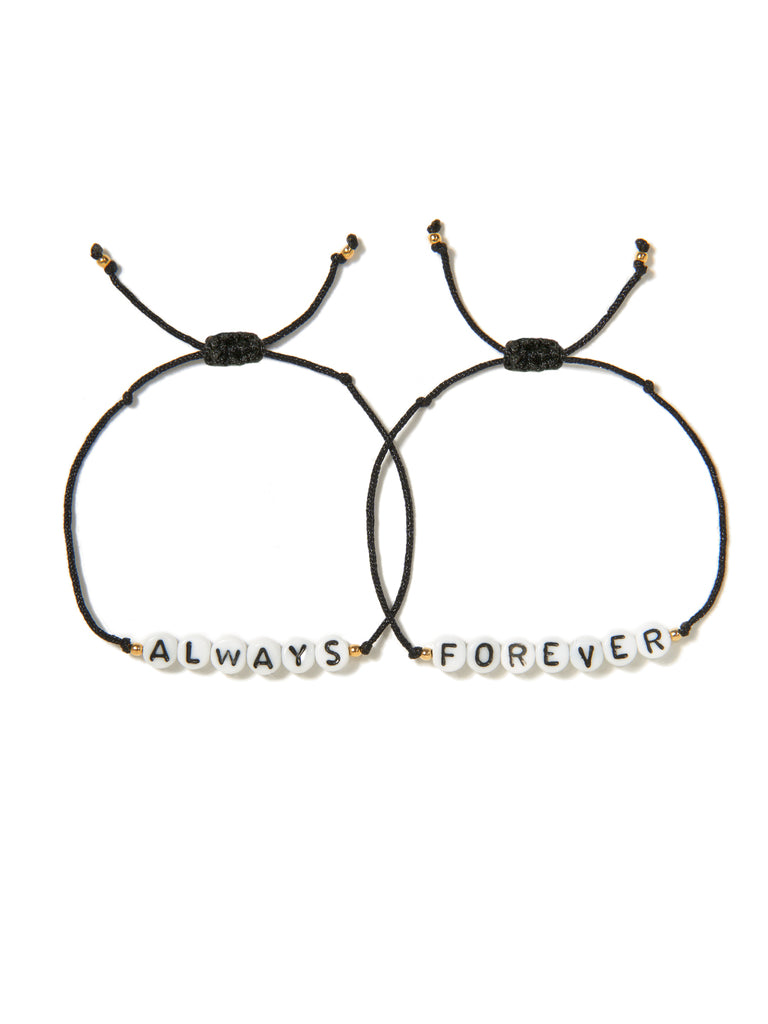 ALWAYS AND FOREVER BRACELET SET