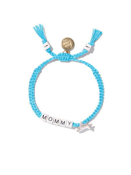 MOMMY SHARK BRACELET (LIGHT BLUE)