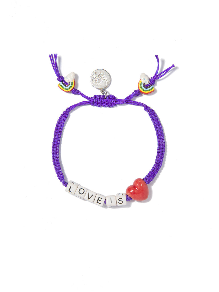 LOVE IS LOVE BRACELET - Venessa Arizaga