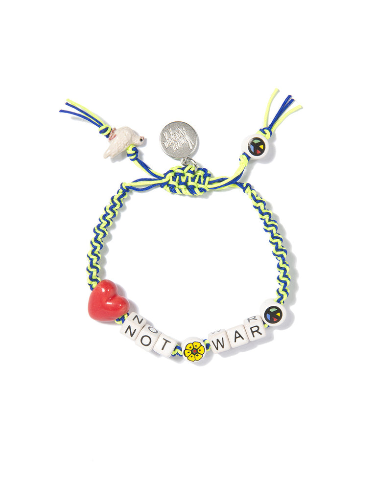 LOVE NOT WAR BRACELET - Venessa Arizaga
