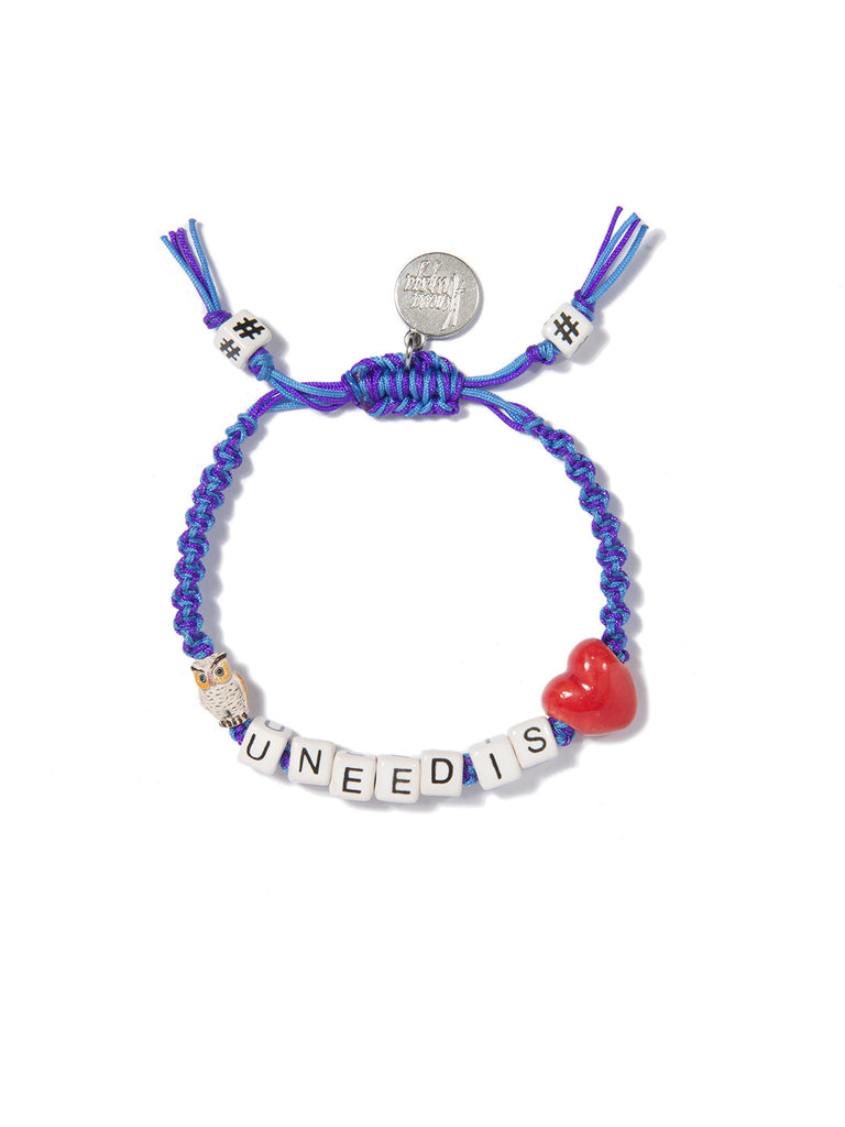 OWL U NEED IS LOVE BRACELET - Venessa Arizaga