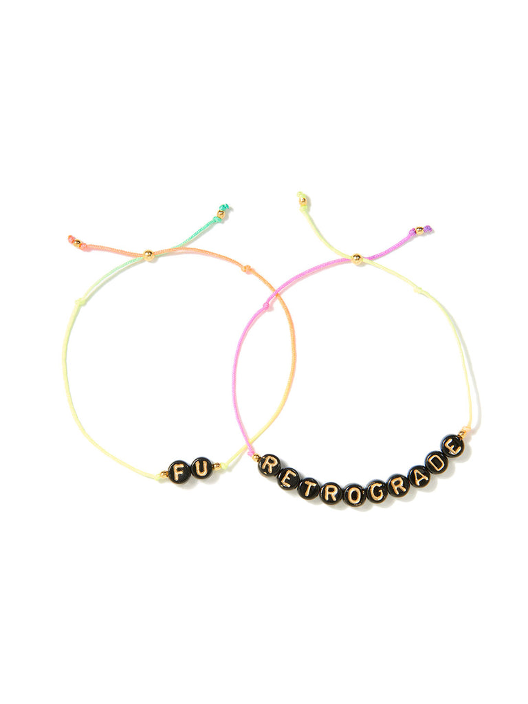 FU RETROGRADE BRACELET SET