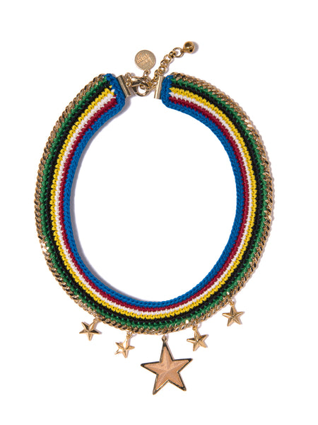 RAINBOW STARS NECKLACE