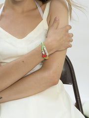 HAVE A PIZZA MY HEART BRACELET BRACELET - Venessa Arizaga