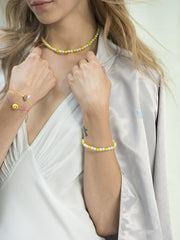 ALL SMILES ON ME PEARL BRACELET - Venessa Arizaga