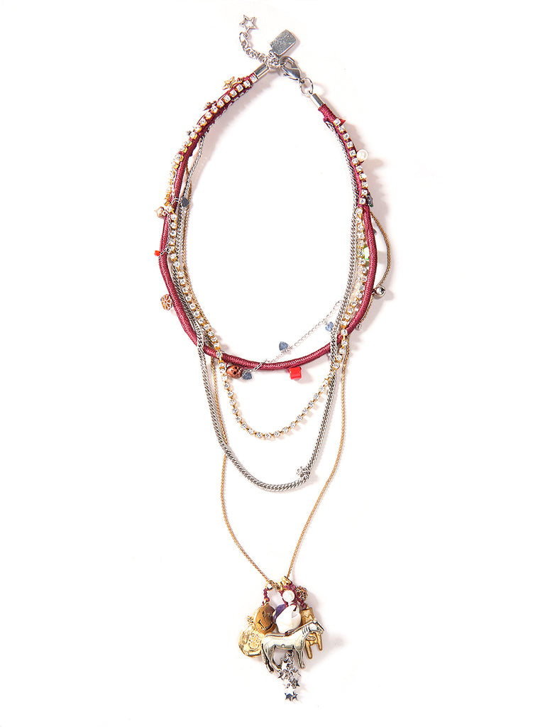 SEEING RED NECKLACE