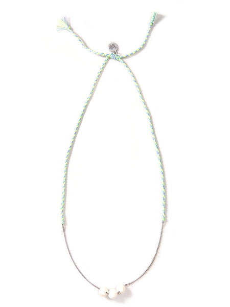 NEPTUNE NECKLACE (BLUE GREEN)