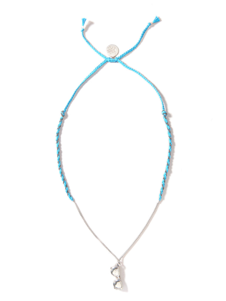 SHADY LADY NECKLACE (BLUE)