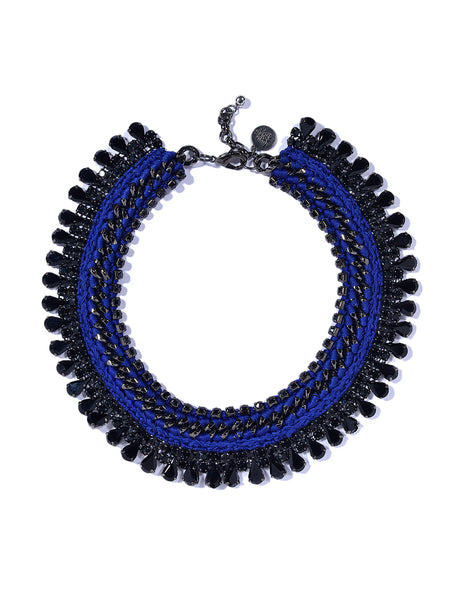 TWINKLE TWINKLE NECKLACE (DARK BLUE)