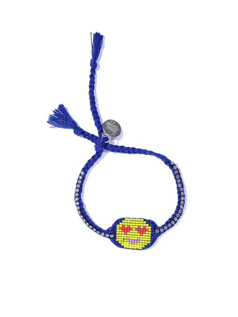 HEART EYES BRACELET (BLUE)