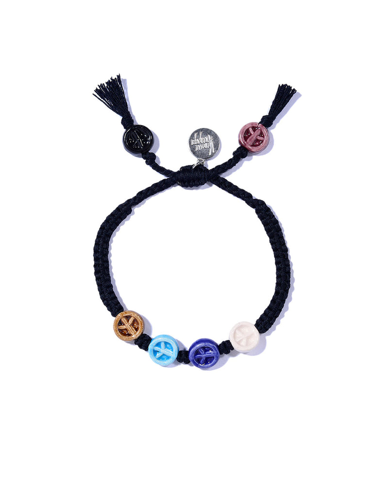 PEACE TRAIN BRACELET (MULTI)