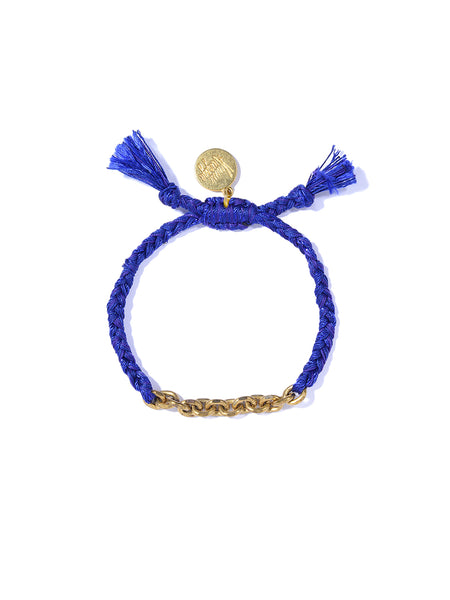 CHAIN OF FOOLS BRACELET (DARK BLUE SPARKLE)