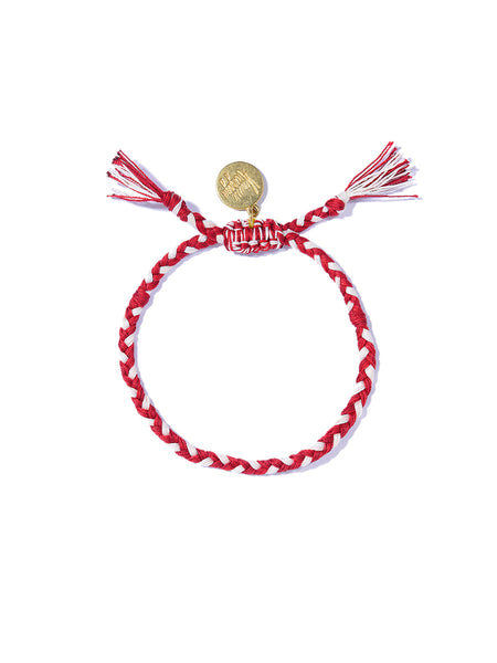 PRETTY SAVAGE BRACELET (RED AND WHITE)