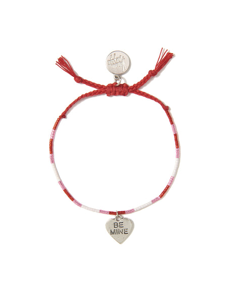 BE MINE HEART BRACELET