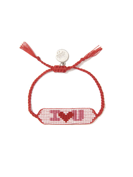 I LOVE YOU BRACELET (RED)