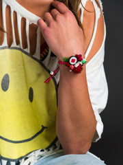 PAINT THE TOWN RED BRACELET - Venessa Arizaga