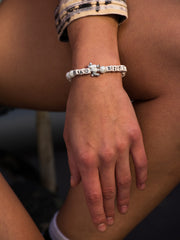 BAD BITCH PEARL BRACELET BRACELET - Venessa Arizaga