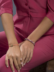 DIAMOND IN THE ROUGH FRIENDSHIP BRACELET - Venessa Arizaga