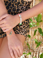 PALM CACTUS BRACELET SET