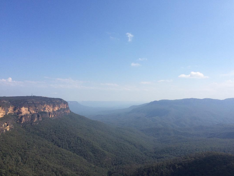 National Pass - Blue Mountains