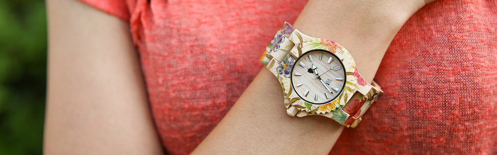 WeWood Date Flower Watch