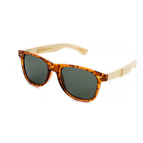 Blue Planet Bamboo Sunglasses