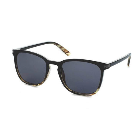 Blue Planet Recycled Sunglasses - Joaquin Black/Yellow