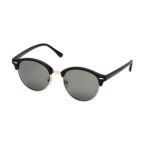 Blue Planet Taylor Matte Black Sunglasses