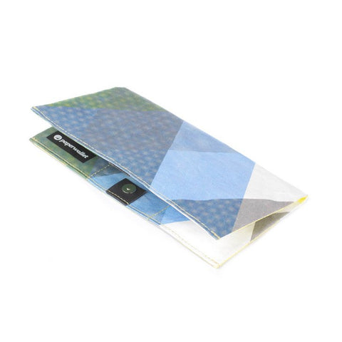 Paperwallet Clutch Moire Triangles