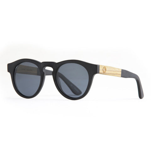 Proof Banks Black Wood Sunglasses